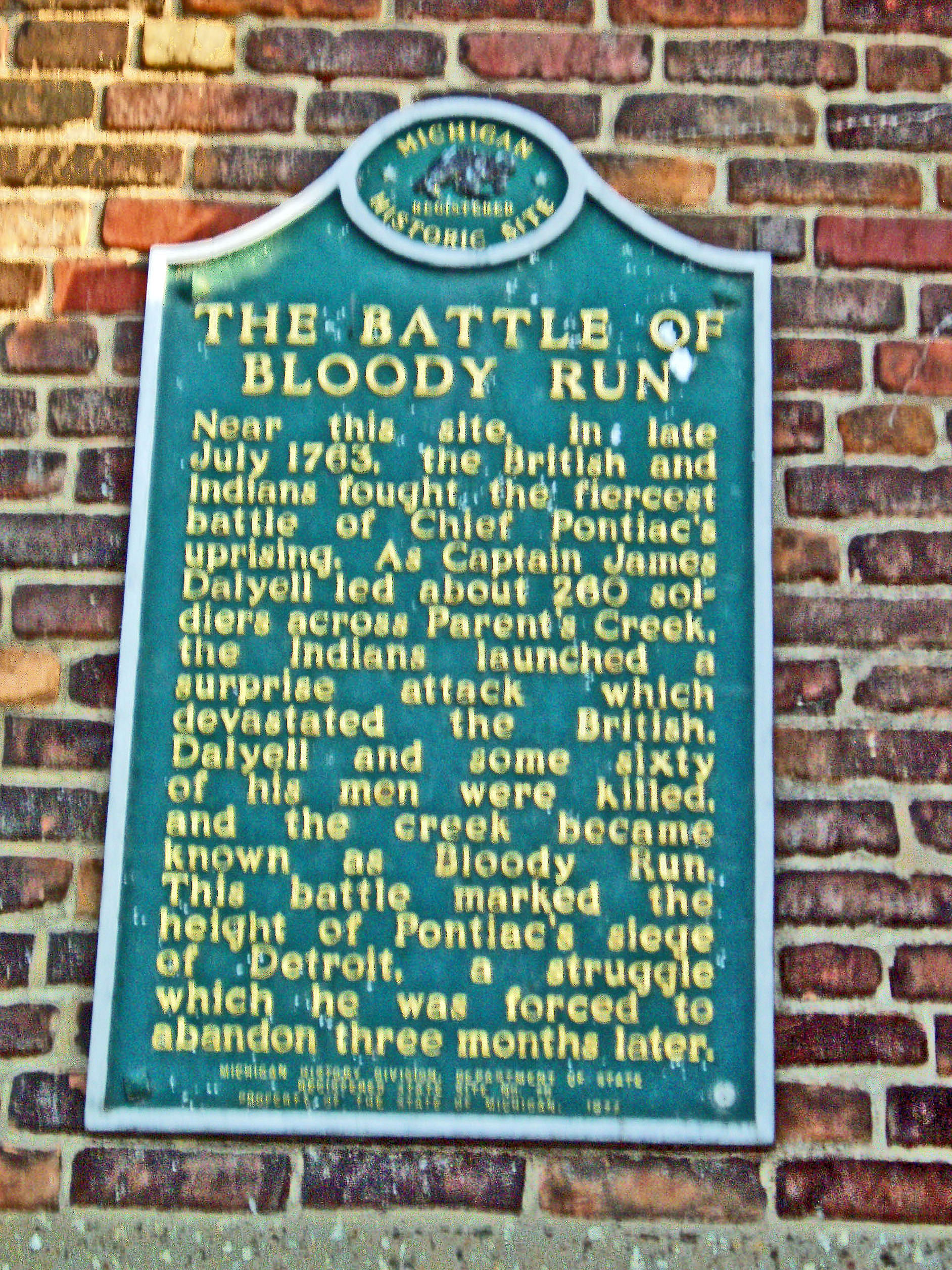 1763 : The Battle of Bloody Run