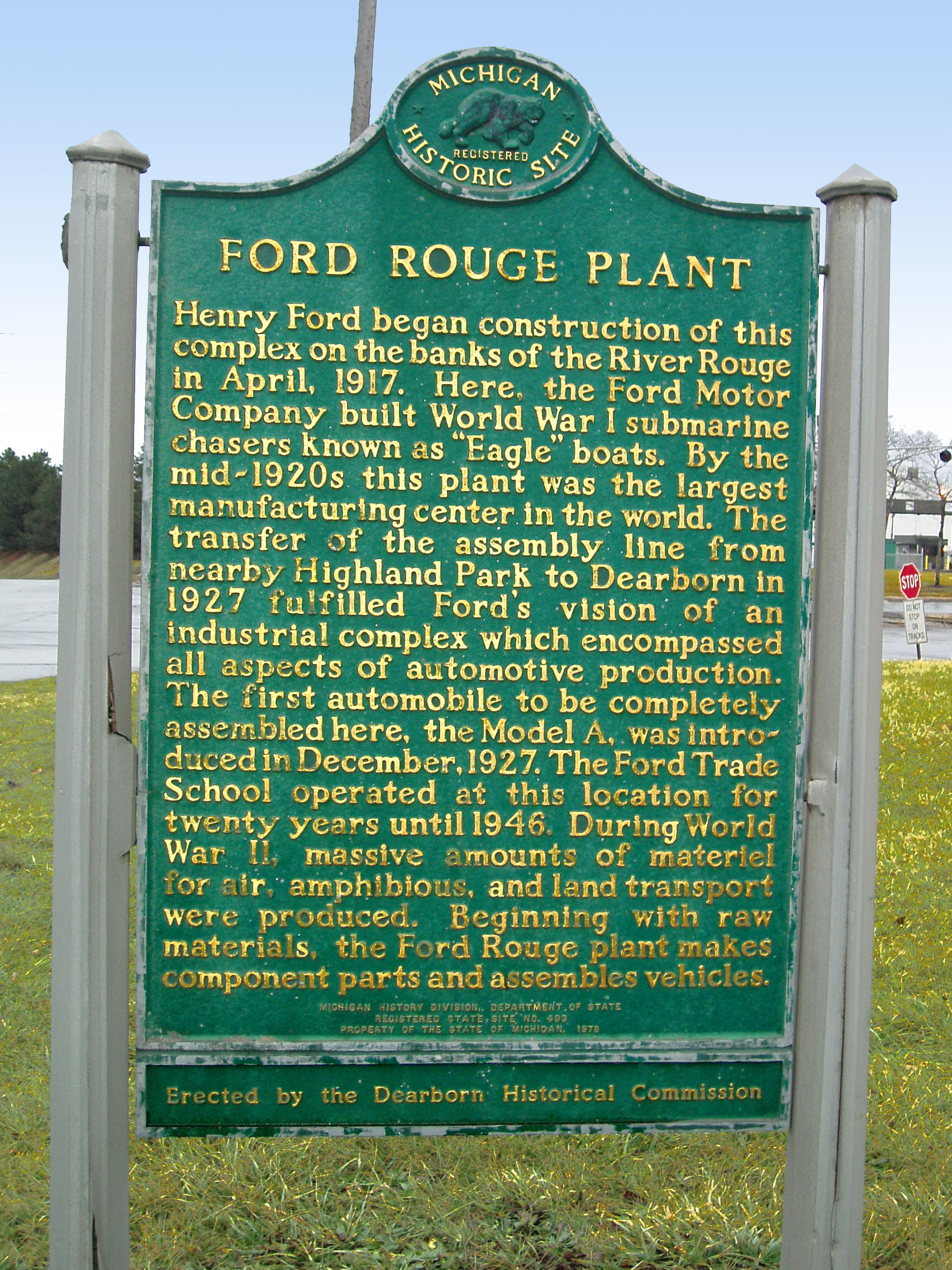 How many ford motor plants for Ford motor company pre employment test
