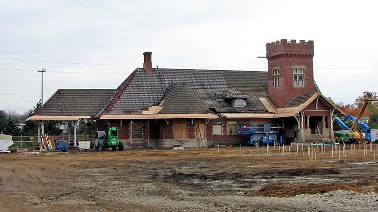 Lansing Depot Grand Trunk Western