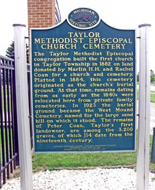 http://detroit1701.org/Graphics/Taylor%20ME%20Church%20Cemetery%20Sign.jpg
